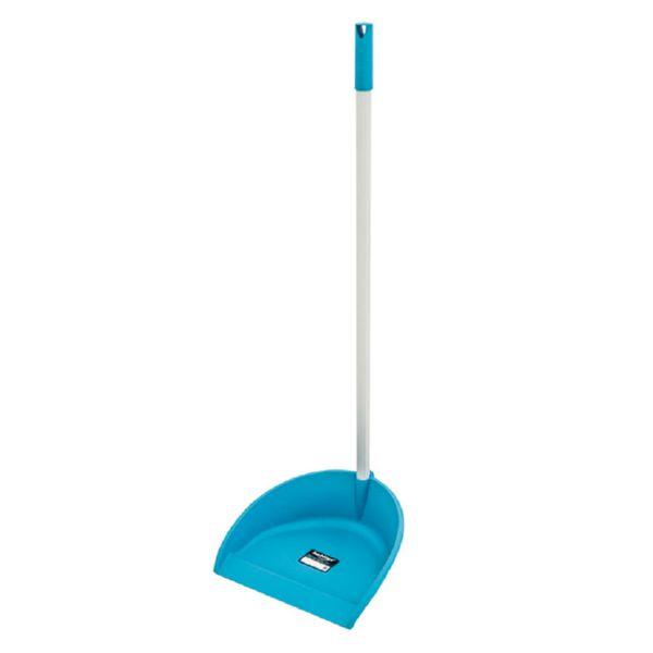 Arts. limpieza Habitex. Recogedor con mango. Azul